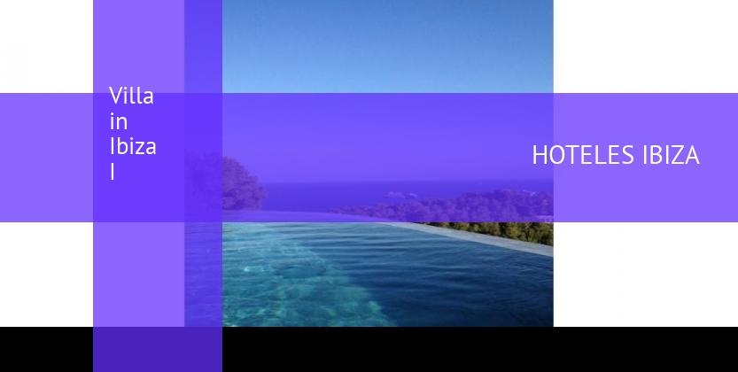 Villa in Ibiza I reservas