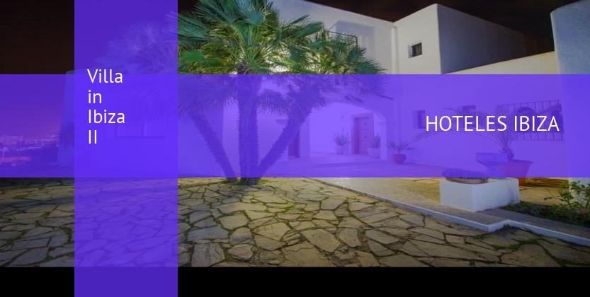 Las villas en ibiza ciudad ibiza hoteles ibiza for Ciudad jardin ibiza