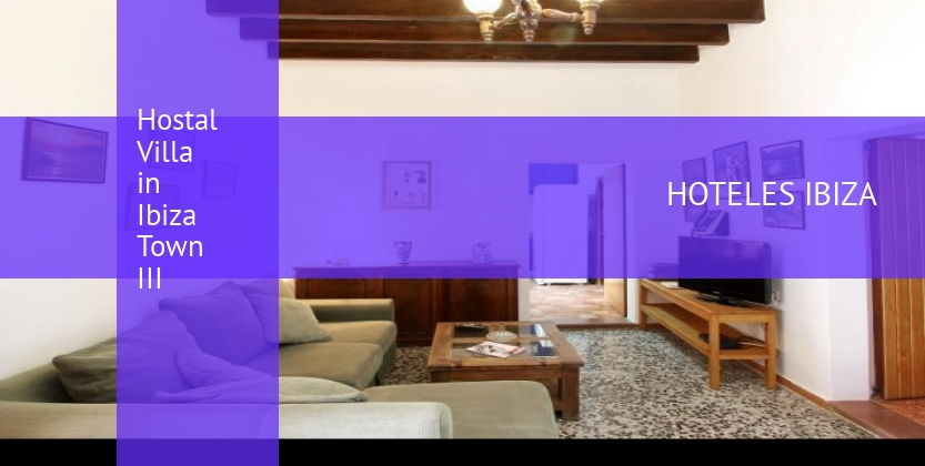 Hostal Villa in Ibiza Town III barato