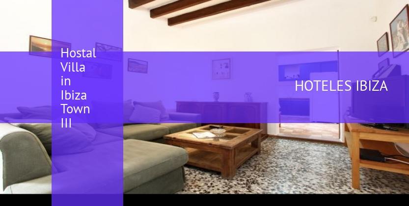 Hostal Villa in Ibiza Town III reservas