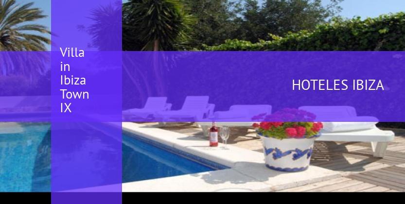 Villa in Ibiza Town IX opiniones