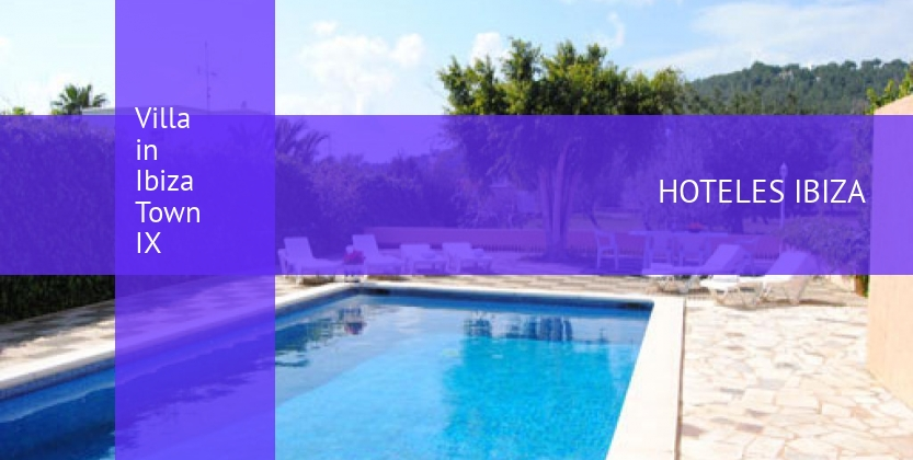 Villa Villa in Ibiza Town IX