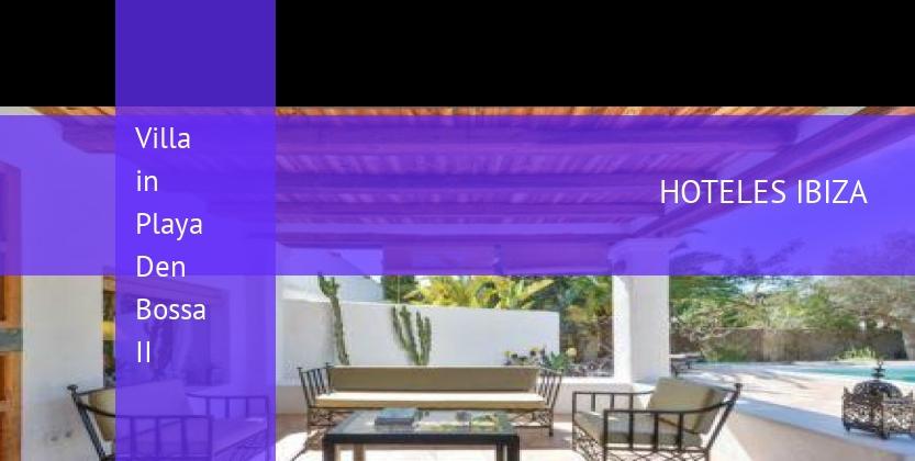 Villa in Playa Den Bossa II reservas