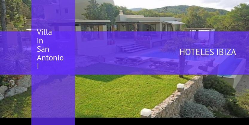 Villa in San Antonio I opiniones