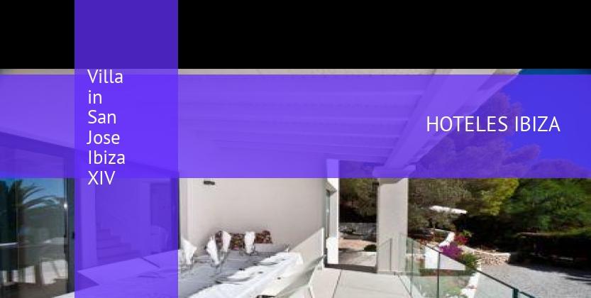 Villa in San Jose Ibiza XIV reservas