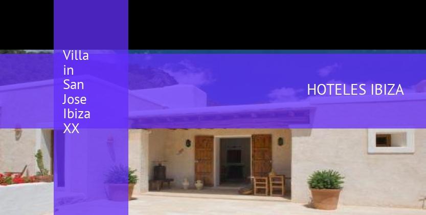 Villa in San Jose Ibiza XX barato