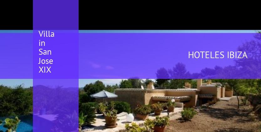 Villa in San Jose XIX reservas