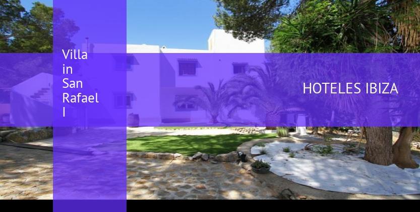 Villa in San Rafael I opiniones