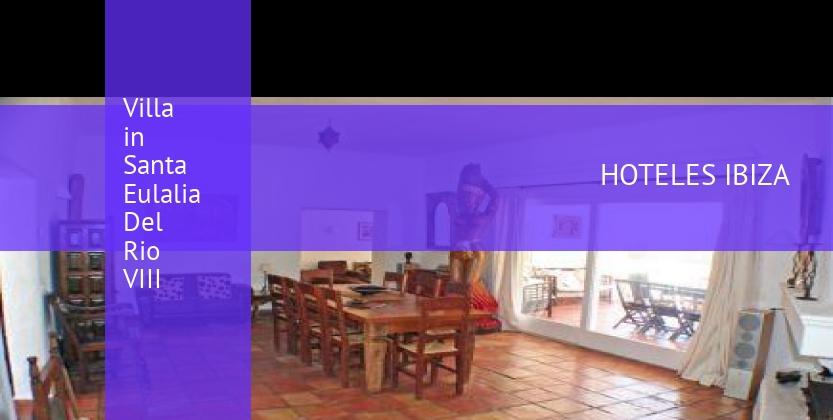 Villa in Santa Eulalia Del Rio VIII baratos
