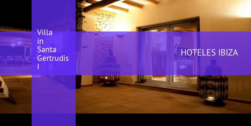 Villa in Santa Gertrudis I baratos