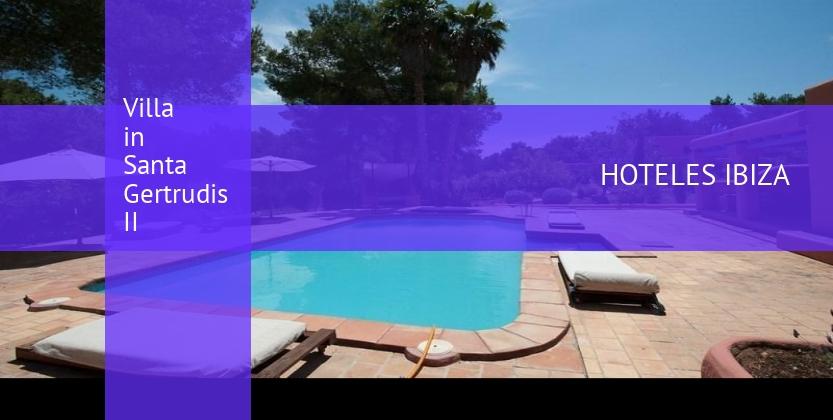 Villa in Santa Gertrudis II reservas