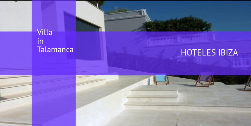Villa in Talamanca reverva