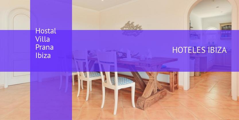 Hostal Villa Prana Ibiza reservas
