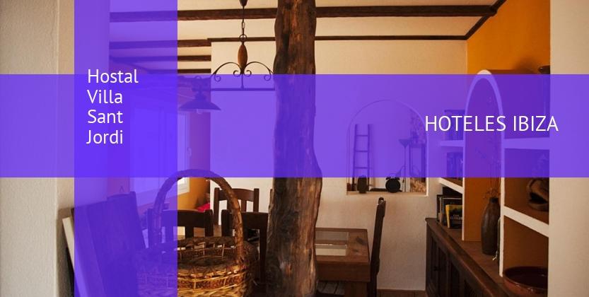 Hostal Villa Sant Jordi reservas