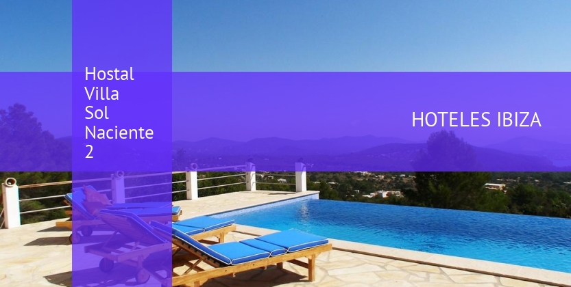 Hostal Villa Sol Naciente 2 reservas