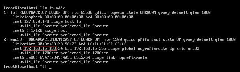 获取IP地址