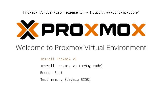 Install Proxmox VE