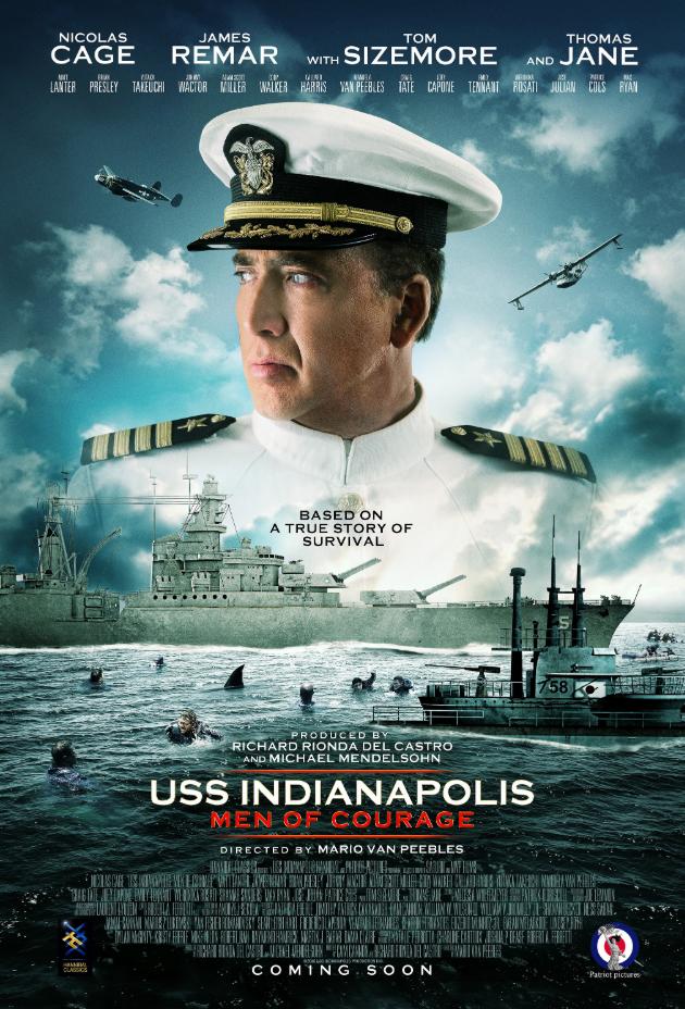 【电影推荐】印第安纳波利斯号:勇者无惧 USS Indianapolis: Men of Courage (2016)