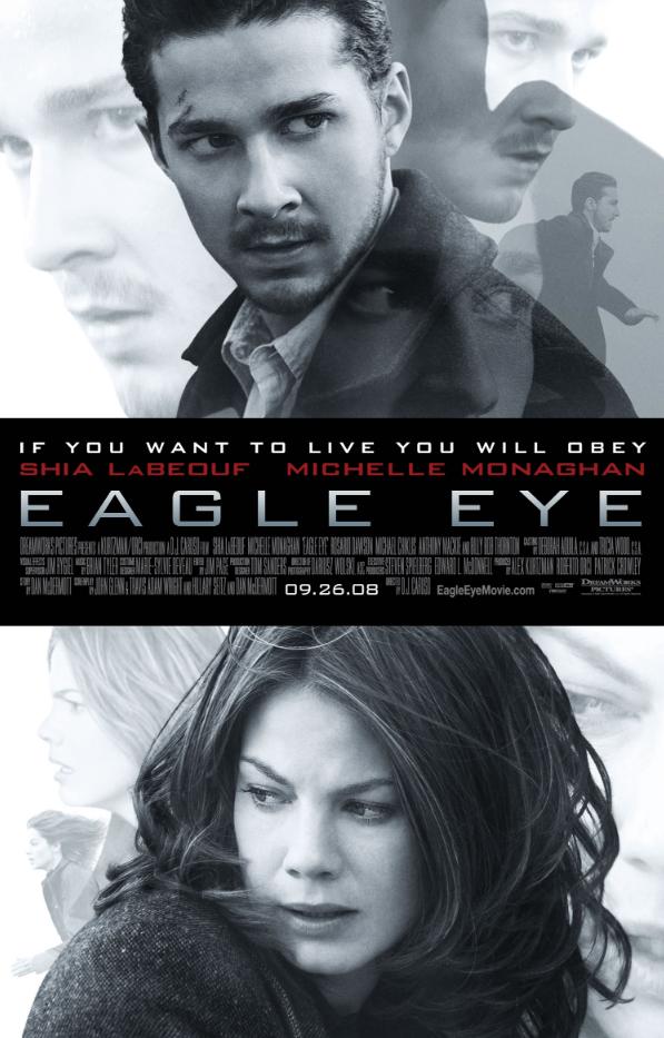 【电影推荐】鹰眼 Eagle Eye (2008)