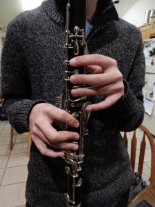 clarinet front