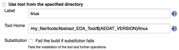 Using Tool Versions in Installers