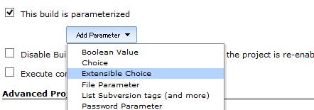 Add Parameter