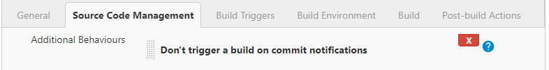 Do not trigger a build on commit notifications