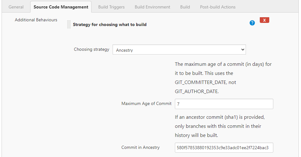 Strategy for choosing what to build