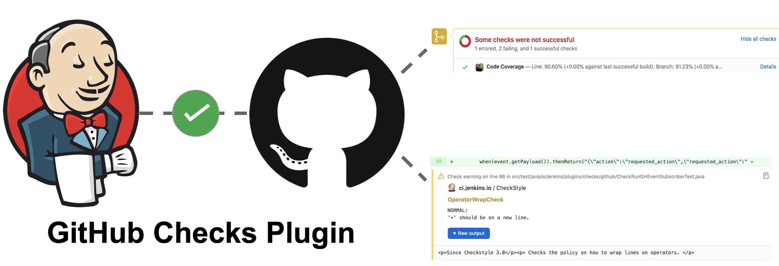 GitHub Checks Plugin Cover