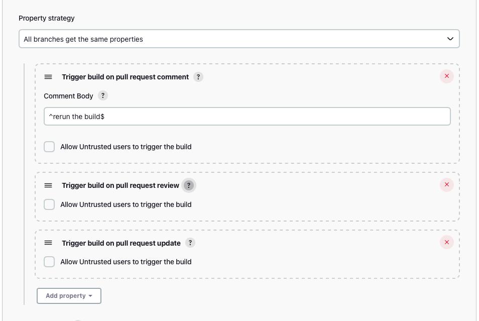 GitHub Multibranch Job Configuration