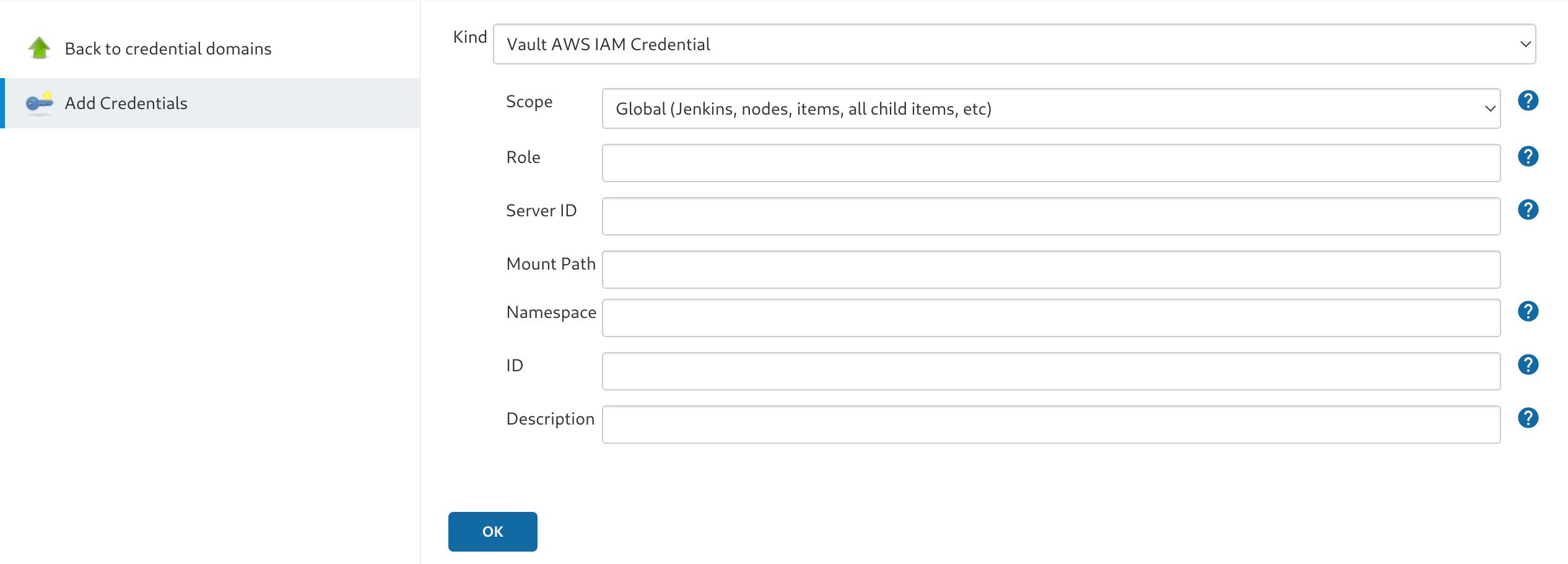 AWS IAM Credential