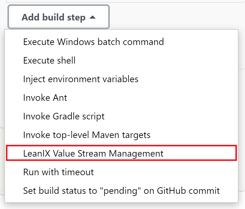 Add plugin to the build steps.