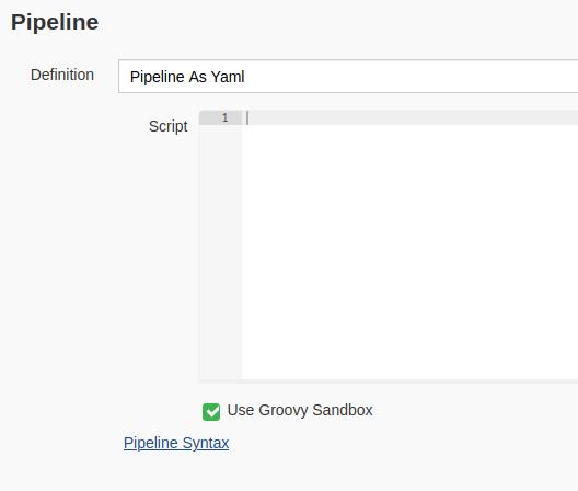 pipelineAsScript