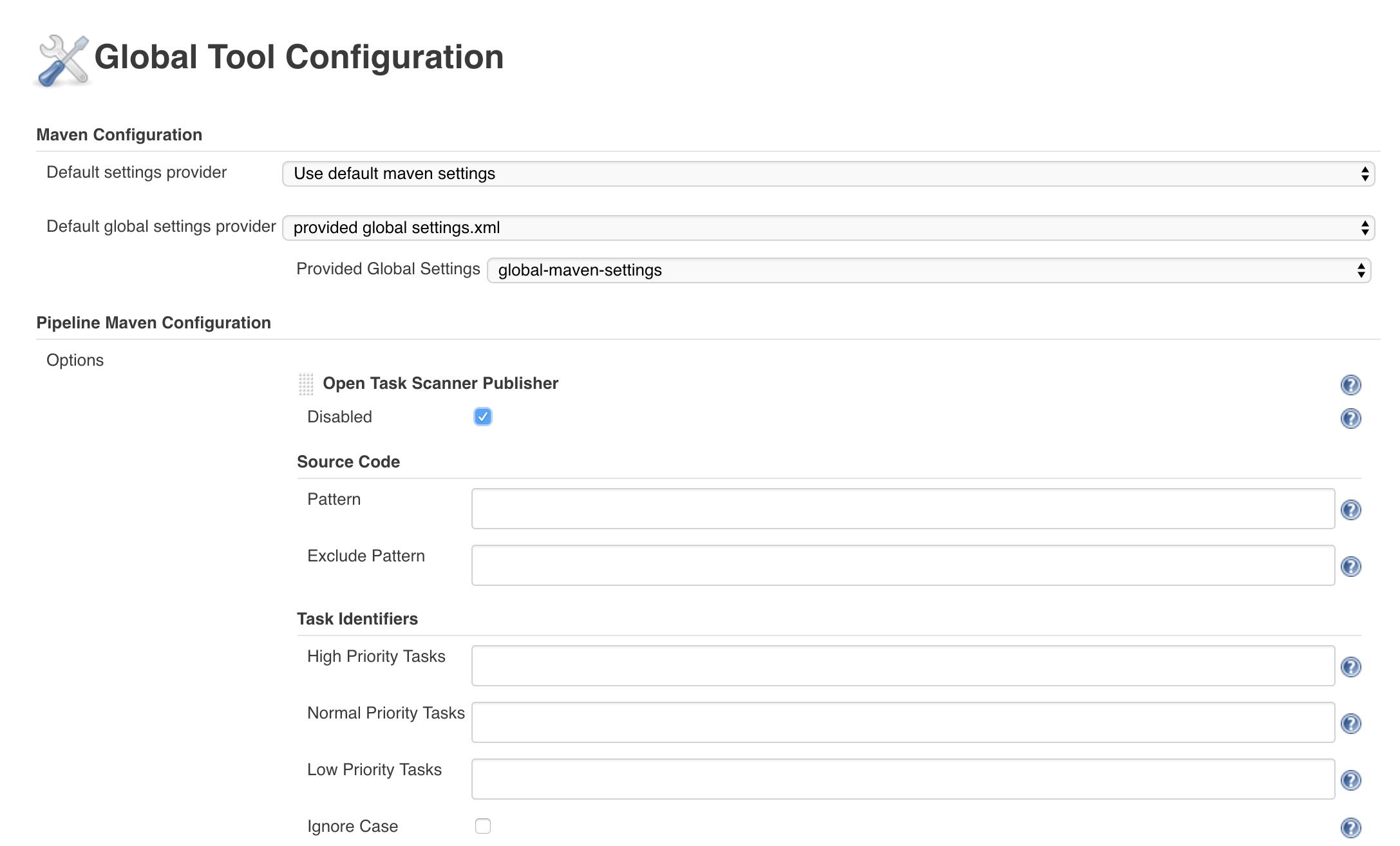 pipeline maven plugin global tools configuration