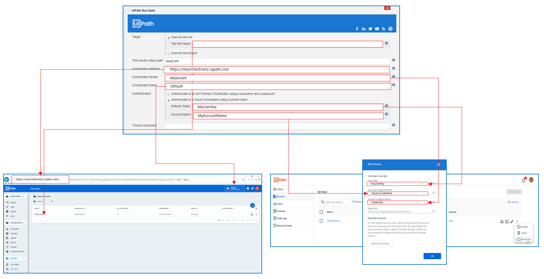How to obtain the Cloud Orchestrator API Key