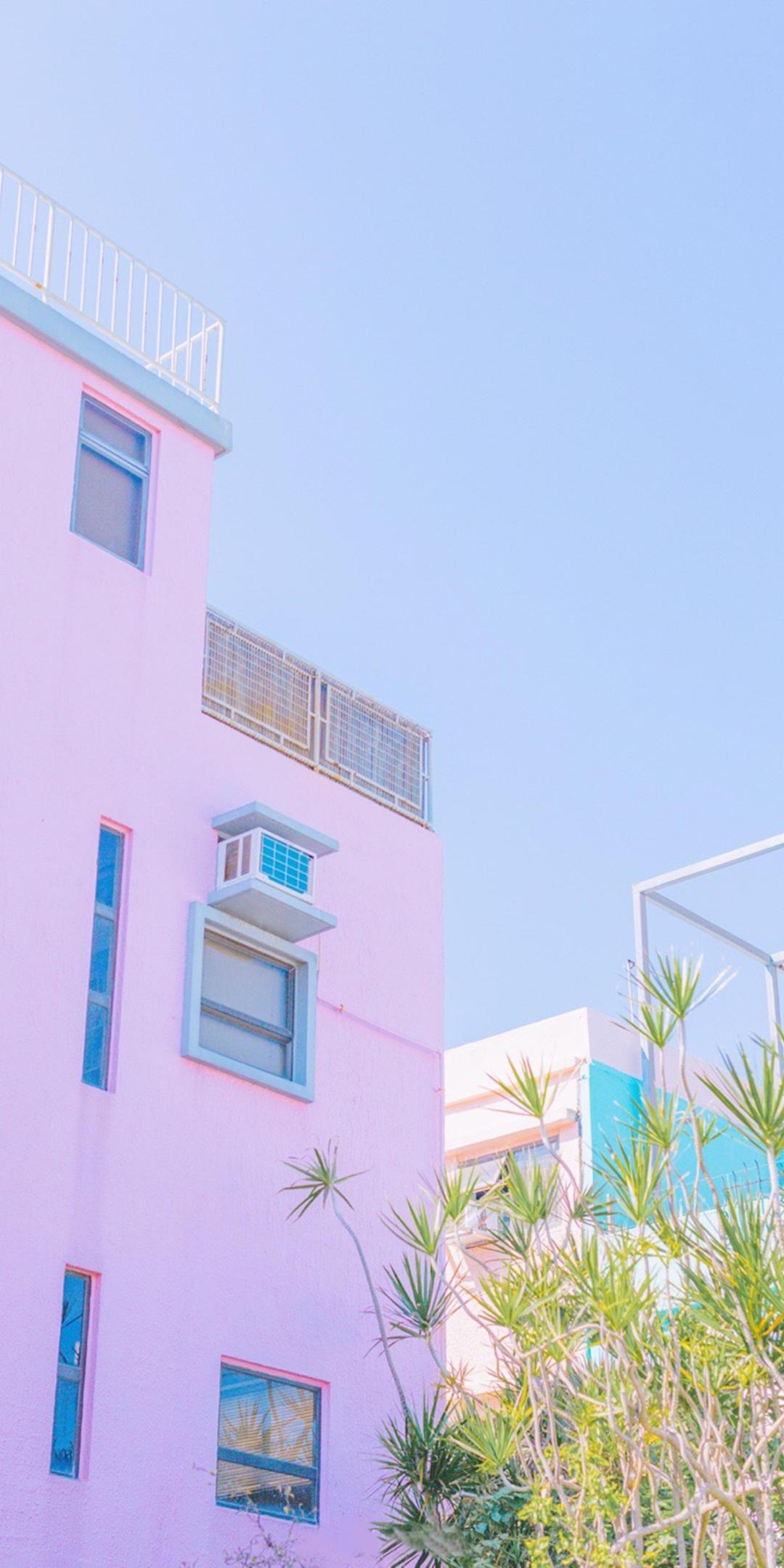 粉色系少女心手机壁纸插图63