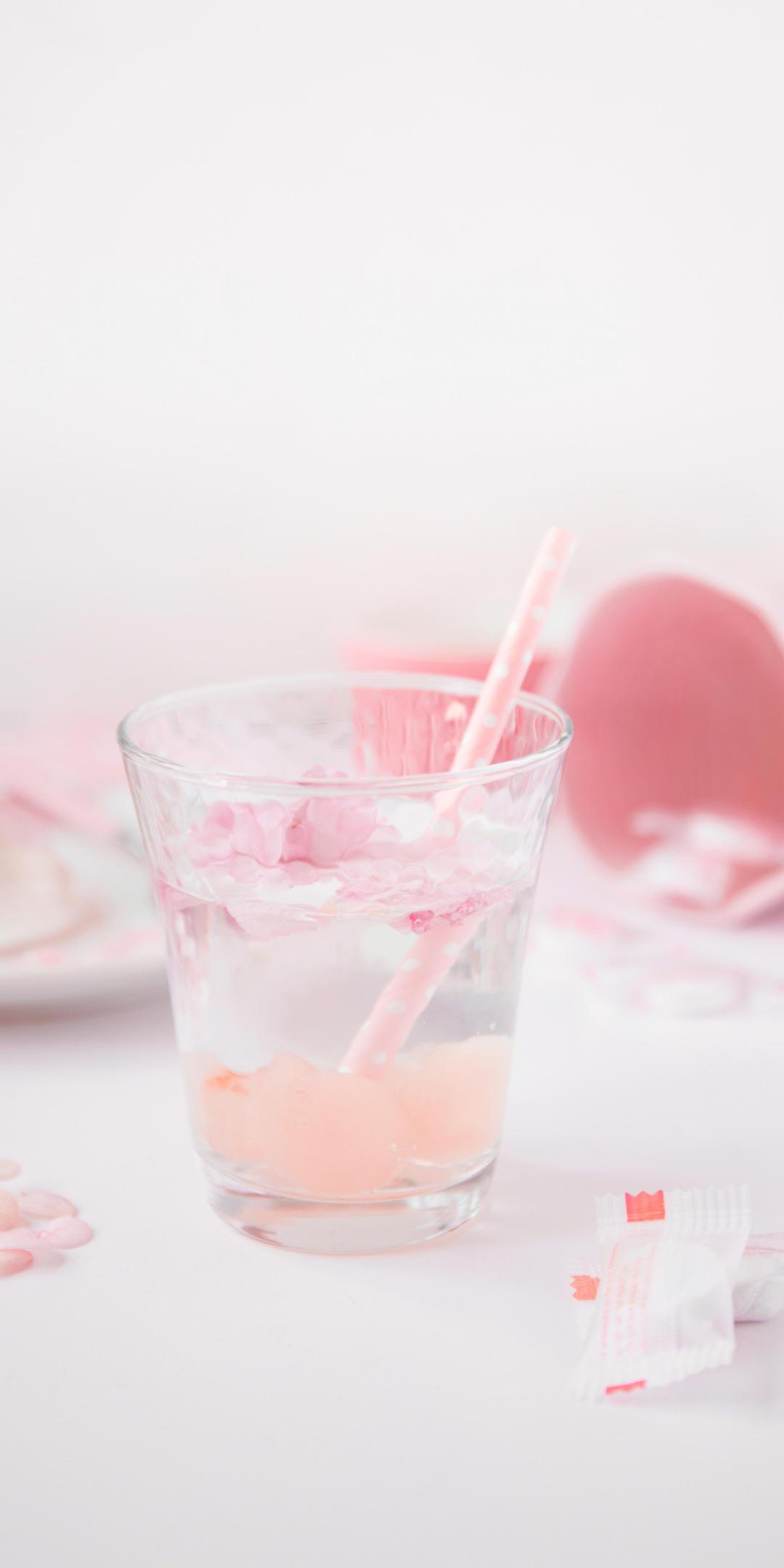 粉色系少女心手机壁纸插图37