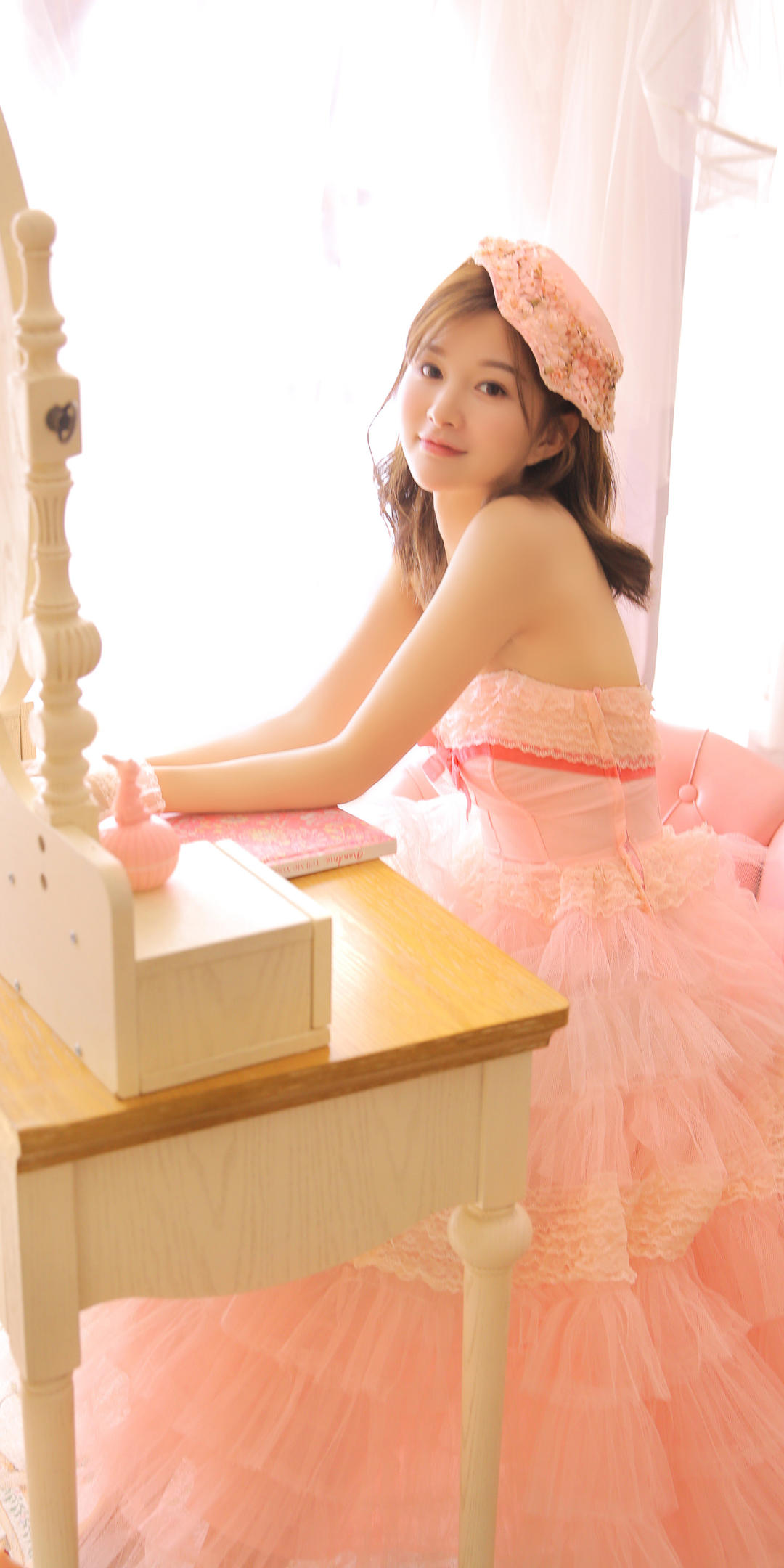 粉色系少女心手机壁纸插图33