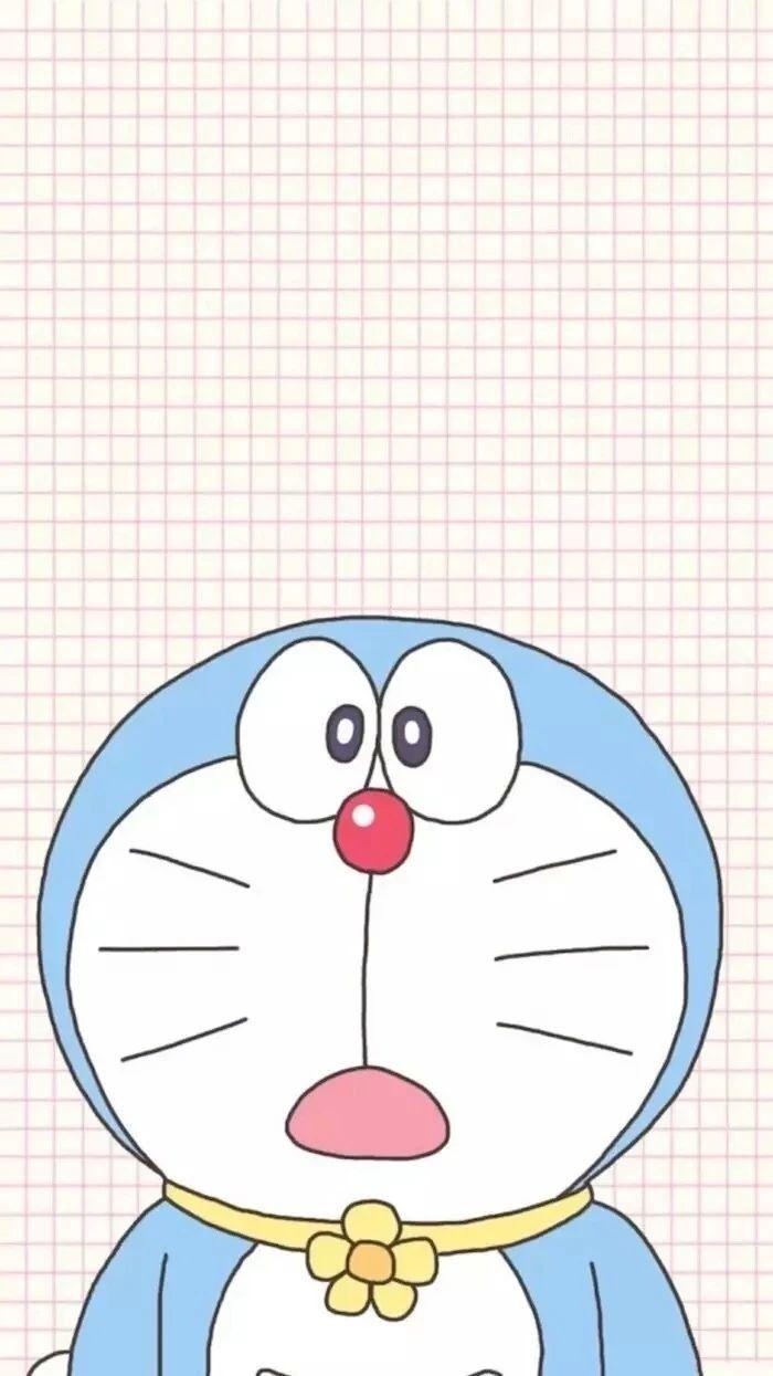 哆啦A梦壁纸:可爱哆啦A梦蓝胖子手机壁纸插图13