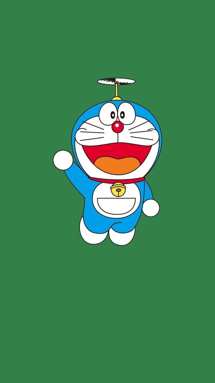 哆啦A梦壁纸:可爱哆啦A梦蓝胖子手机壁纸插图17