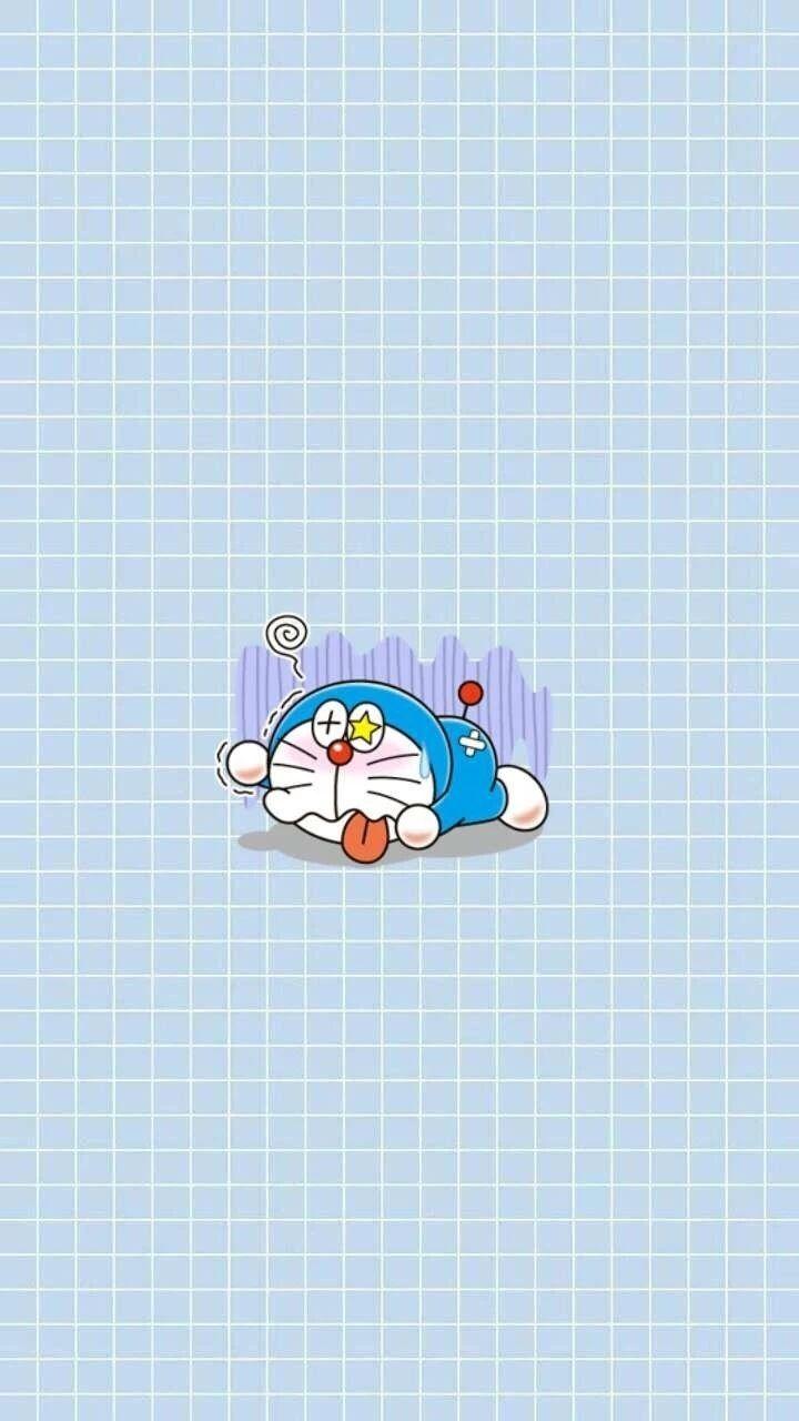 哆啦A梦壁纸:可爱哆啦A梦蓝胖子手机壁纸插图25
