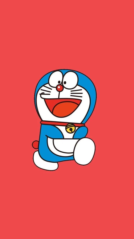 哆啦A梦壁纸:可爱哆啦A梦蓝胖子手机壁纸插图27