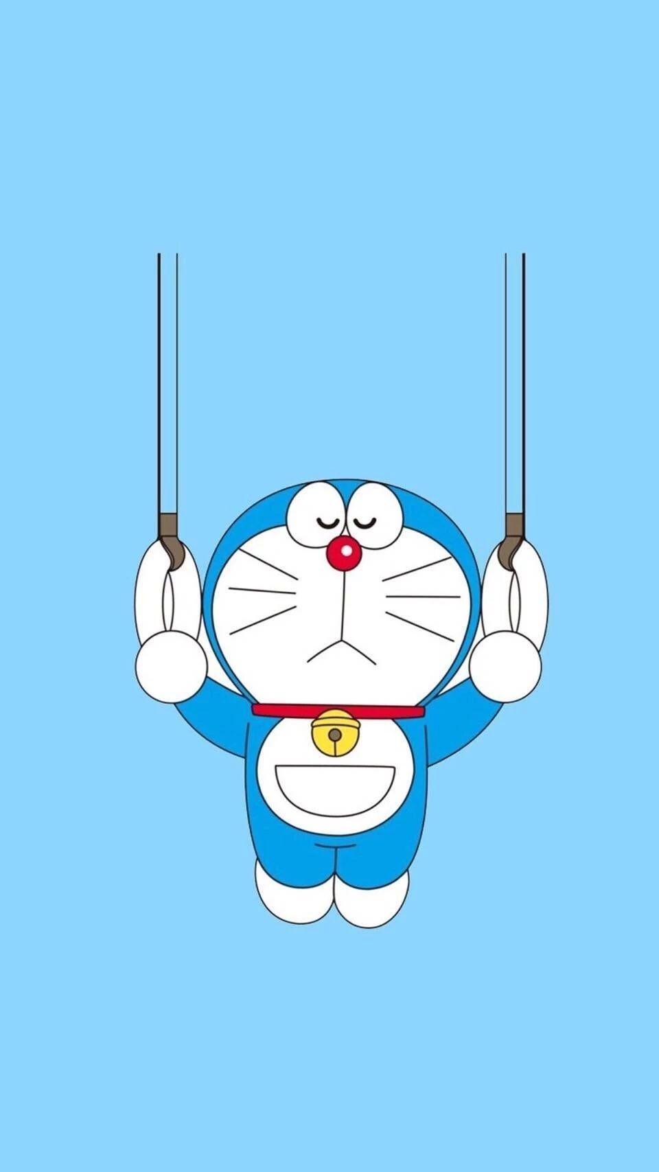 哆啦A梦壁纸:可爱哆啦A梦蓝胖子手机壁纸插图29