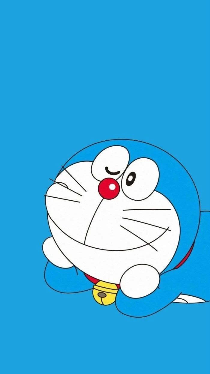 哆啦A梦壁纸:可爱哆啦A梦蓝胖子手机壁纸插图33