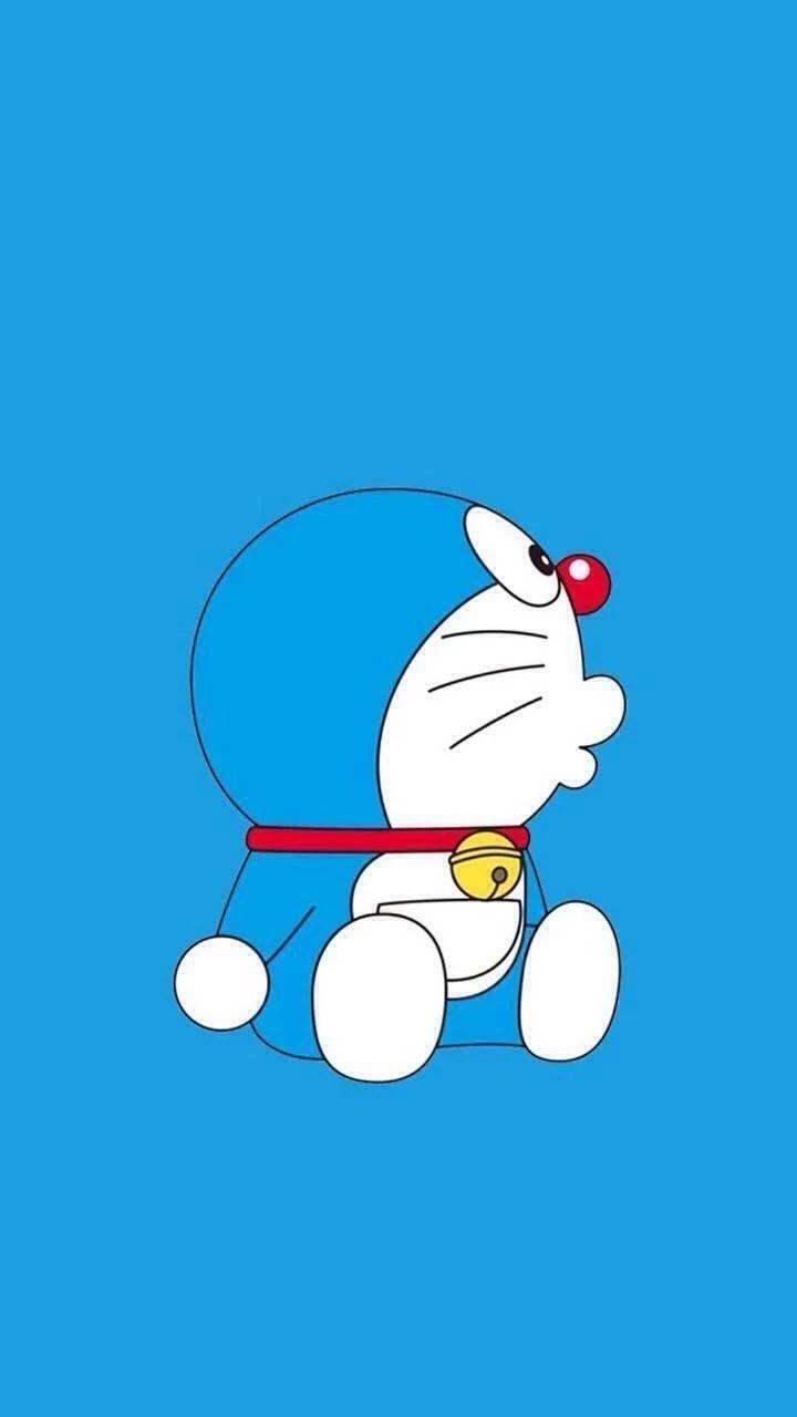 哆啦A梦壁纸:可爱哆啦A梦蓝胖子手机壁纸插图59