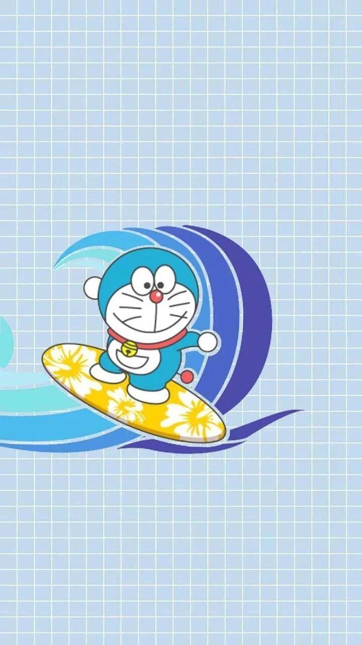 哆啦A梦壁纸:可爱哆啦A梦蓝胖子手机壁纸插图65