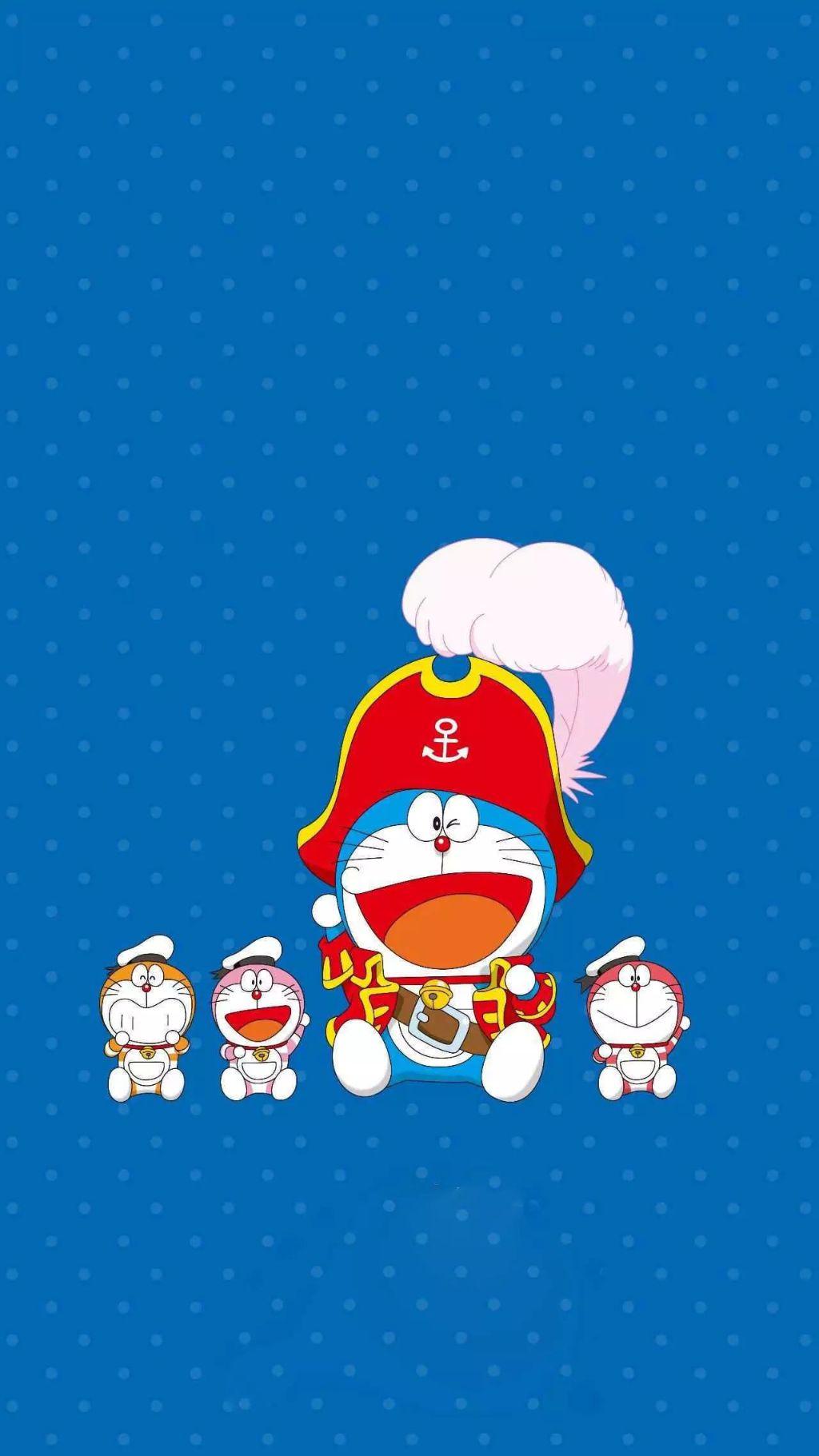 哆啦A梦壁纸:可爱哆啦A梦蓝胖子手机壁纸插图75