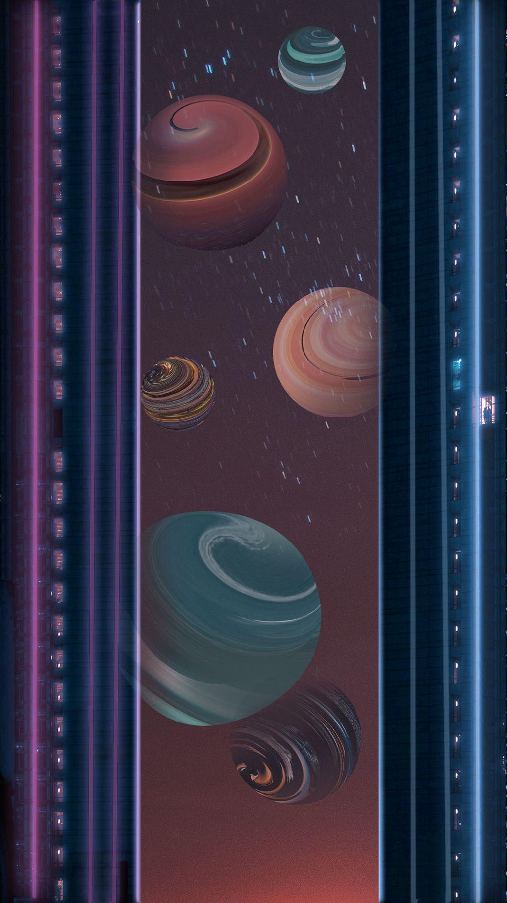星空、太空:高清手机壁纸插图7