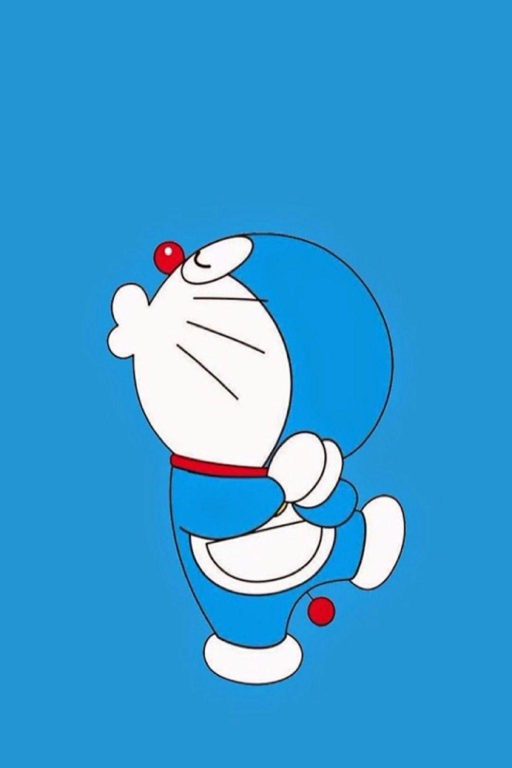 手机壁纸:蓝胖子、多啦A梦、叮当猫手机壁纸,赶紧换上。插图7