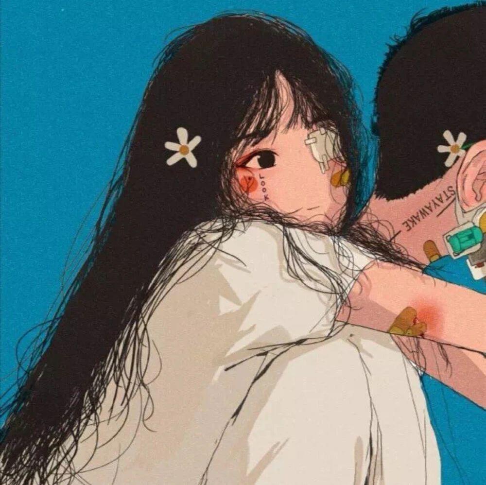 情侣头像:你要努力让他/她注意到你呀插图69